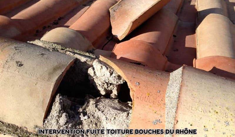intervention fuite toiture Bouches du Rhône