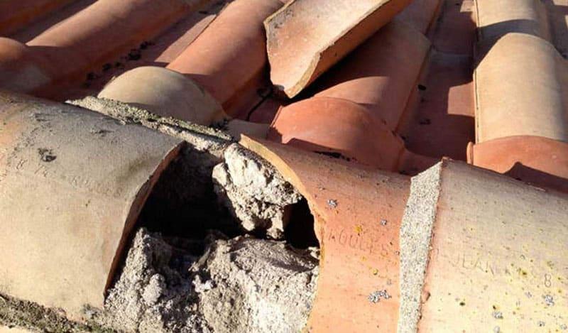 Intervention fuite toiture