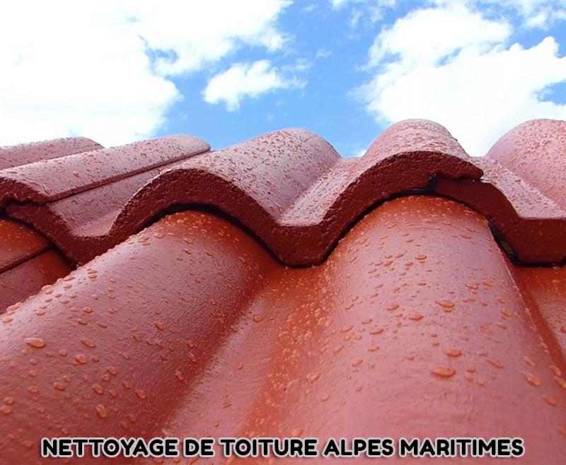 Nettoyage de toiture Alpes Maritimes