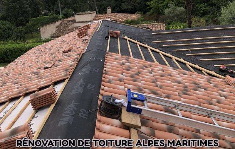 Rénovation de toiture Alpes Maritimes, Maitre artisan Couvreur dans le 06