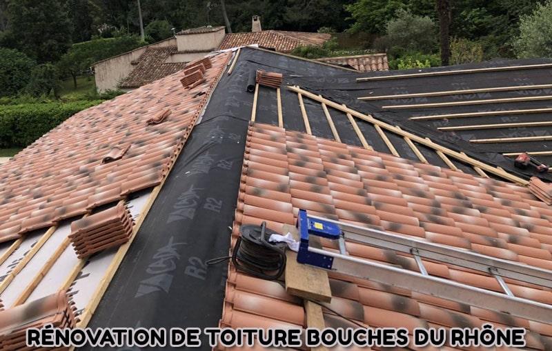 Rénovation de toiture Bouches du Rhône