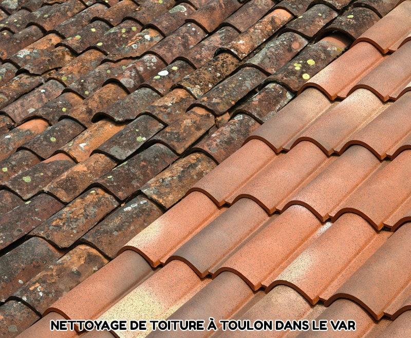 Nettoyage de toiture Toulon Var